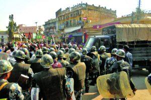 UDMF-cadres-ans-security-personnel-clash-in-Rajbiraj