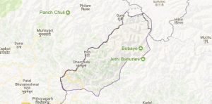 darchula map