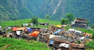 earthquake-hit-village
