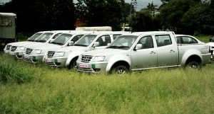 Brand new SUVs procured by the Eelection Comission 03