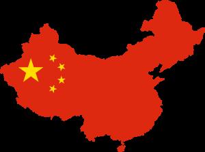 China-Map-Flag