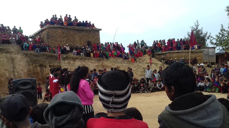 दैलेखमा नेकपाको भव्य कार्यक्रम, ज्वाला सहिद स्मृति सांस्कृतिक परिवारको धमाका