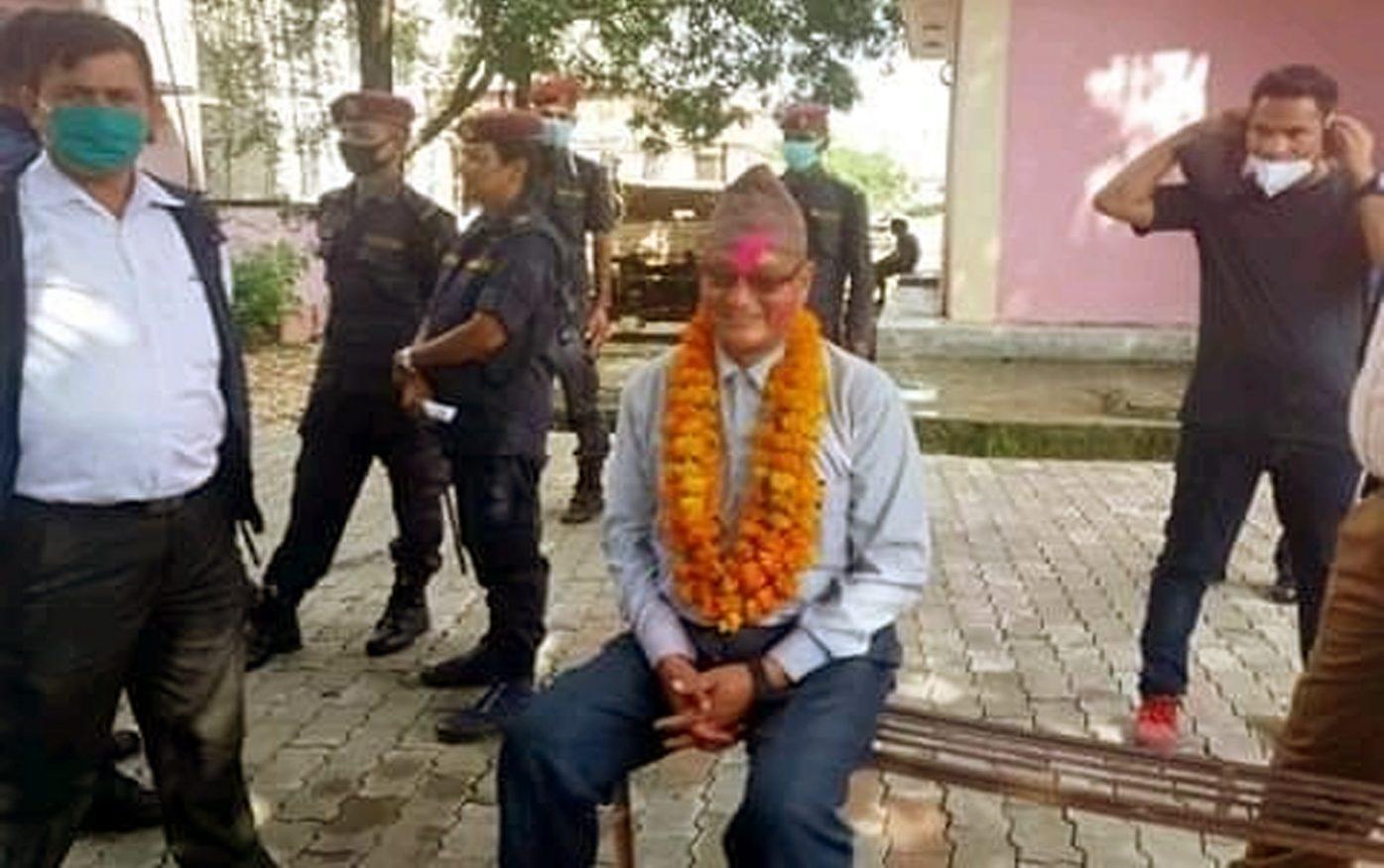 नेकपाका नेता वीरजङ्गको स्वास्थ्य अवस्थालाई लिएर परिवार चिन्तित