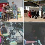 नेकपा राहत वितरण र जनश्रममा व्यस्त