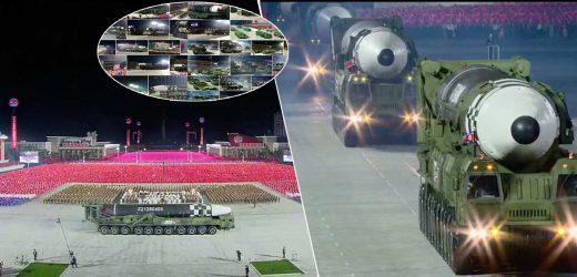 दुनियाँलाई आश्चर्यचकित पार्दै जनगणतन्त्र कोरियाद्वारा शक्तिशाली पारमाणविक क्षेप्यास्त्र प्रदर्शन