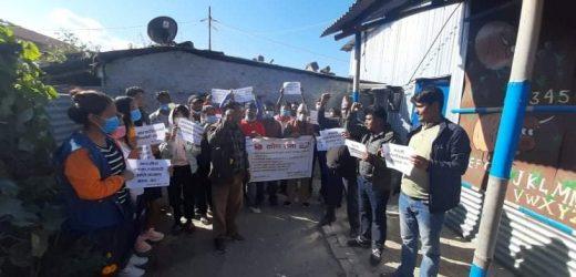 नेकपा काठमाडौँद्वारा सरकारविरुद्ध दर्जनौँ स्थानमा कोणसभा