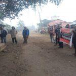 नेकपा नेता कञ्चनको गिरफ्तारीविरुद्ध नवलपुरमा प्रदर्शन