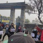कास्कीका विभिन्न स्थानमा गिरफ्तारीविरुद्ध प्रदर्शन