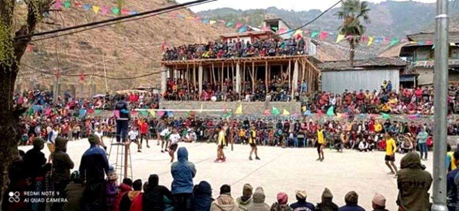 जनयुद्ध दिवसको अवसरमा थबाङमा विविध खेलकुद प्रतियोगिता