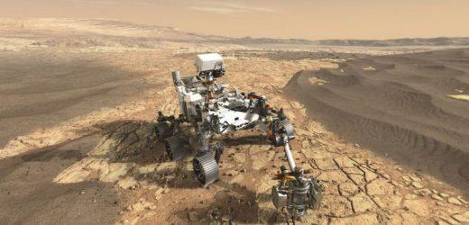 नासाको अन्तरिक्ष यान पर्सिभिअरन्स मंगल ग्रहमा अवतरण