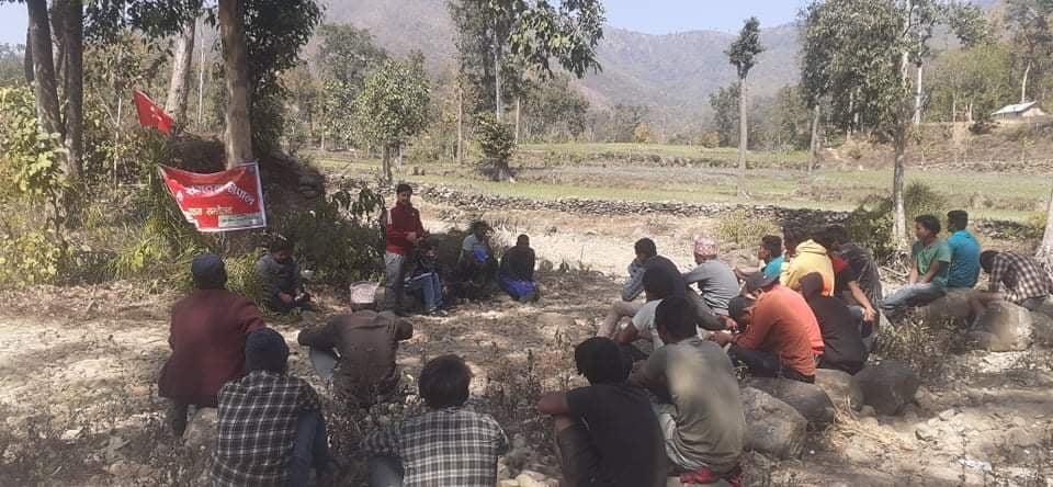 युवा संगठन नेपाल, बबई गाउँ कमिटीको प्रथम सम्मेलन सम्पन्न