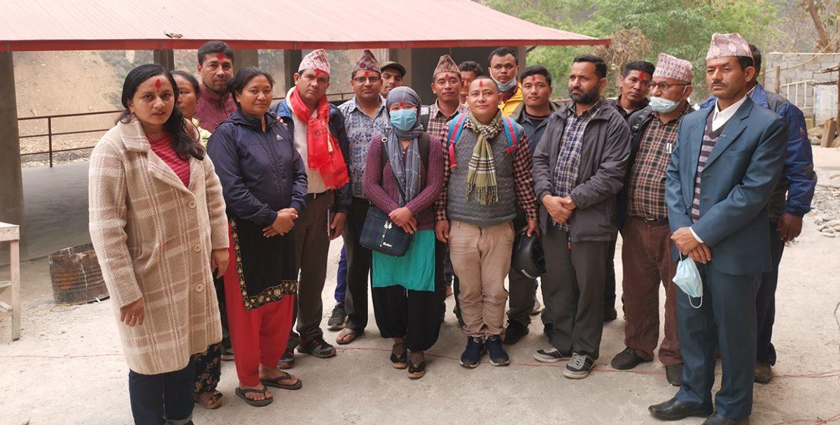 अखिल नेपाल शिक्षक सङ्गठन गोरखाको बैठक सम्पन्न