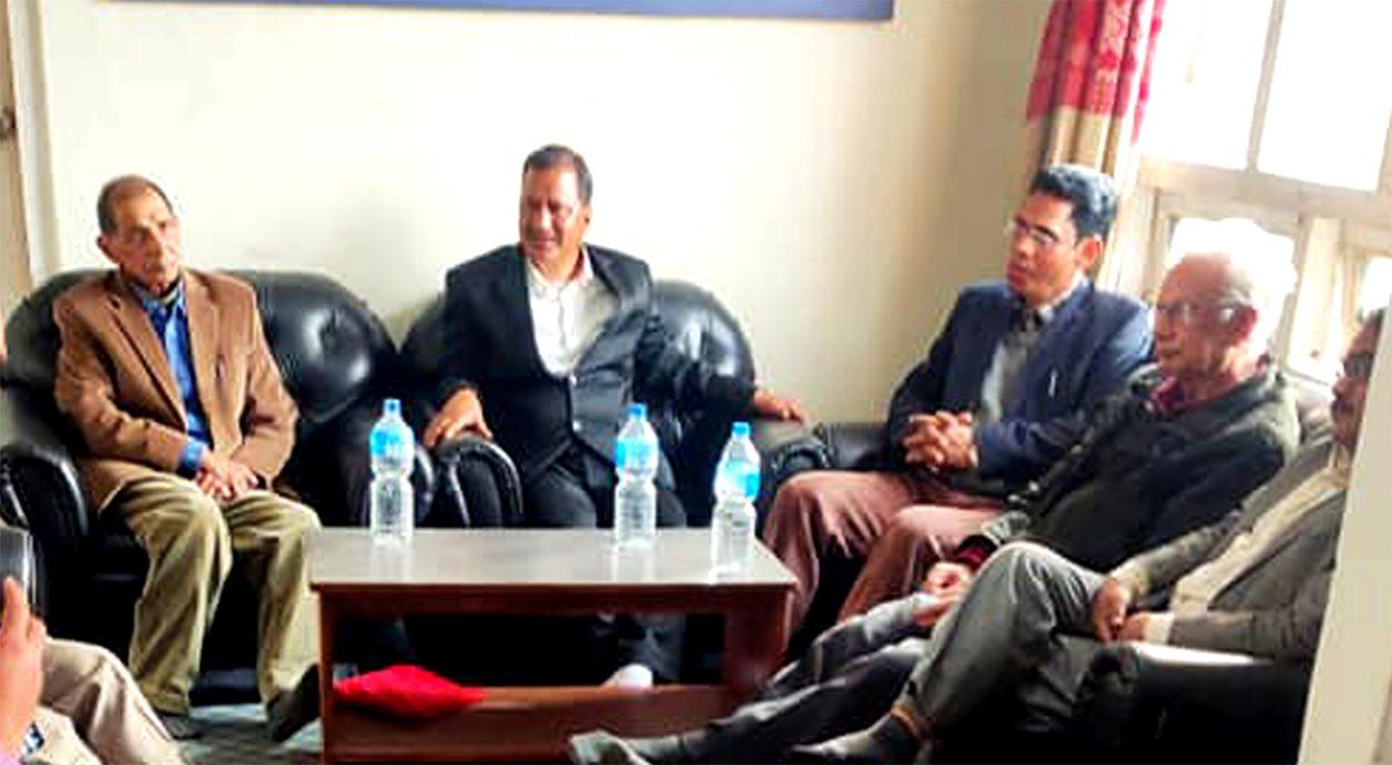 नेकपा महासचिव विप्लव, प्रवक्ता प्रकाण्ड र नेता किरणबीच छलफल