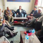 संयुक्त रणनैतिक मोर्चाका नेताहरुसँग सहासचिव विप्लवद्वारा भेटघाट