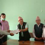 अखिल नेपाल शिक्षक संगठन रूपन्देहीले बुझायो ध्यानाकर्षण पत्र
