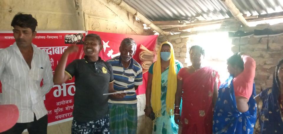 दलित मुक्ति मोर्चा, नेपाल नवलपरासीको अध्यक्षमा दुसाद