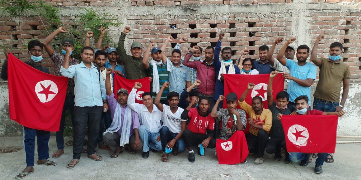सिराहा–सप्तरीका क्रान्तिकारी युवाहरू युवा सङ्गठनमा सङ्गठित