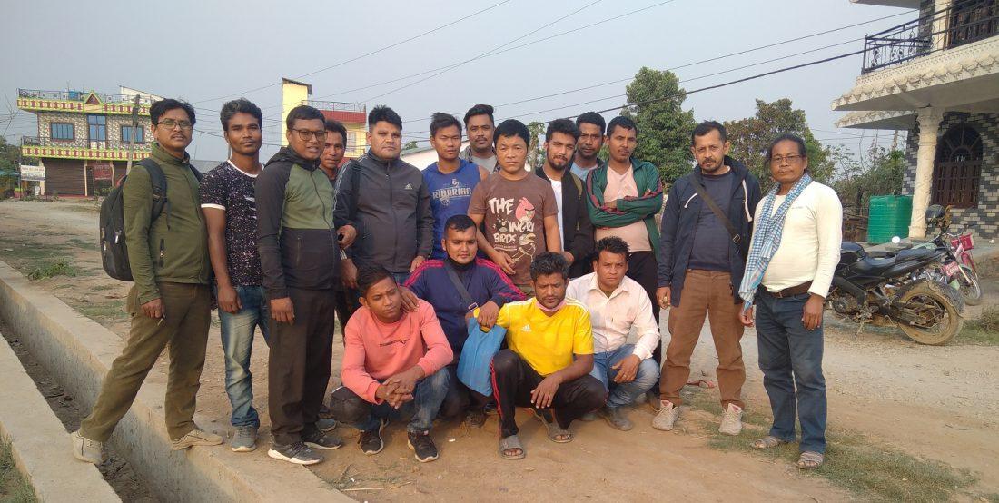 युवा संगठन नेपाल नवलपुरको जिल्ला सम्मेलन हुने