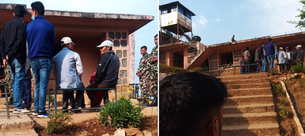 जिल्ला कारागार अछाममा कार्यकर्ता र पुनबीच भेटघाट