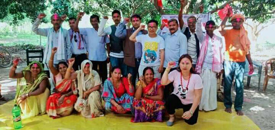 दलित मुक्ति मोर्चा, नेपाल सर्लाहीको अध्यक्षमा रामपुकार राम