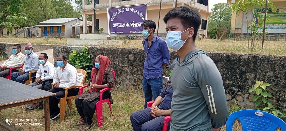 शिवगढीमा कोरोनाविरुद्ध जनस्वास्थ्य सेवा प्रभावकारी