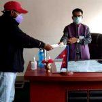 नेकपाको पहलमा ६ राजनीतिक दलले बुझाए ज्ञापनपत्र