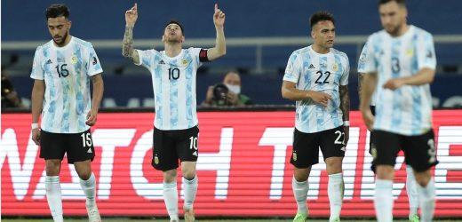 कोपा अमेरिका फुटबलको पहिलो खेलमा अर्जेन्टिना र चिली बराबरी