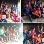 पाल्पामा किसान महासङ्घ क्रान्तिकारीद्वारा धान दिवस कार्यक्रम