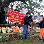 अखिल नेपाल क्रान्तिकारी ट्रेड युनियन महासङ्घद्वारा राहत वितरण