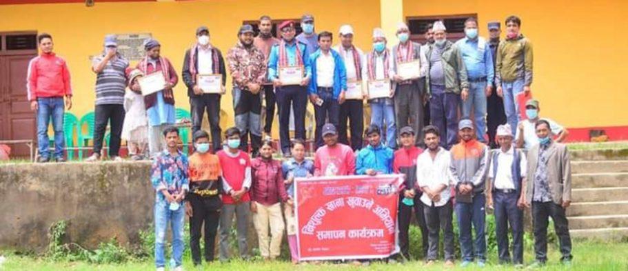 नेकपा रुकुम पश्चिमद्वारा निःशुल्क खाना खुवाउने अभियान ५१ दिन पछि समापन