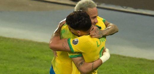 ब्राजिल कोपा अमेरिका फुटबलको फाइनलमा प्रवेश