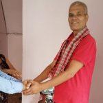 नेकपा सचिवालय सदस्य कञ्चनले आदर्शलाई गरे स्वागत