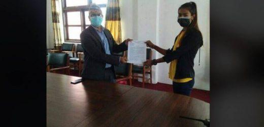 दलित मुक्ति मोर्चा लुम्बिनीद्वारा प्रधानमन्त्रीलाई ज्ञापनपत्र