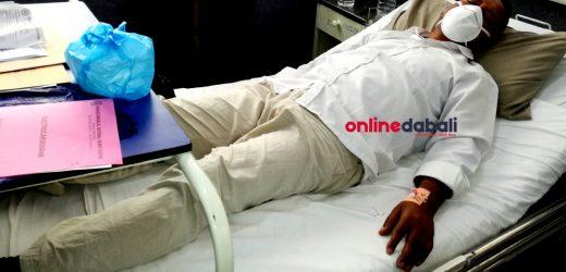 स्वास्थ्यमा गम्भीर समस्या आएपछि नेकपाका नेता सुदर्शन अस्पताल भर्ना
