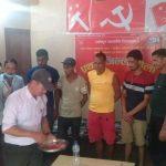 धनगढीमा क्रान्तिकारी यातायात मजदुरको भेला