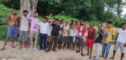 नेकपा बर्दियाद्वारा जयसिंह धामी हत्याको विरुद्धमा विरोध प्रदर्शन