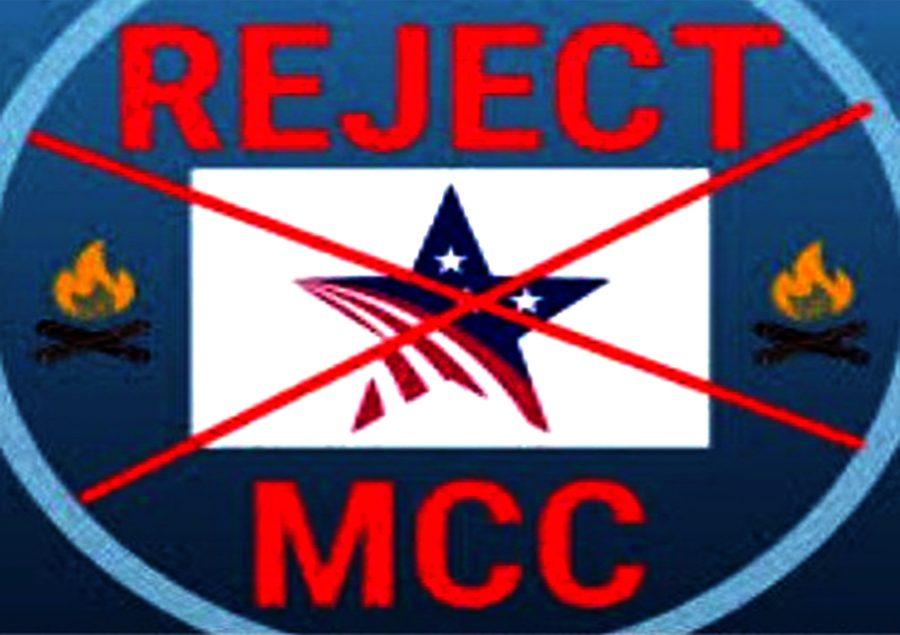 राष्ट्रघाती एमसीसी परियोजना खारेज गर