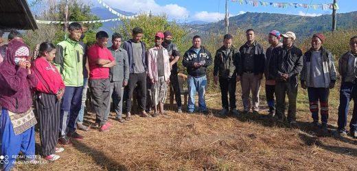 युवा सङ्गठन, नेपाल जिरी नगरपालिकाको भेला सम्पन्न