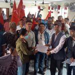 मकवानपुरमा खोलेको एमसिए कार्यालय हटाउन संयुक्त ज्ञापन पत्र